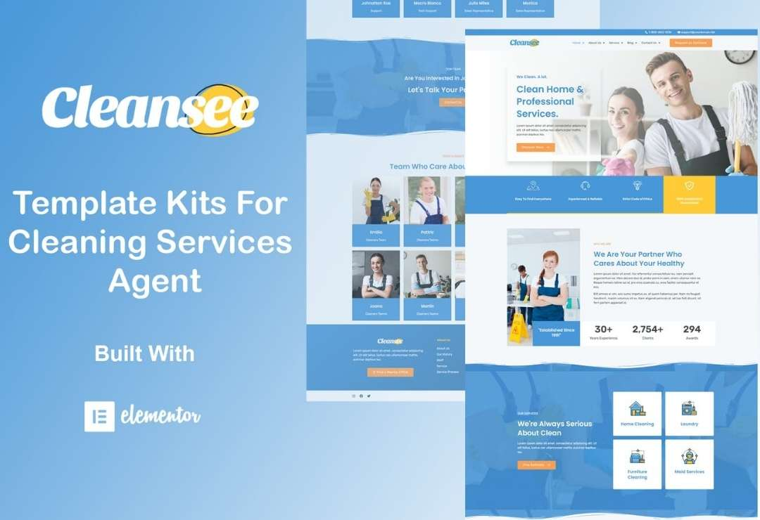 Cleansee - Cleaning Service