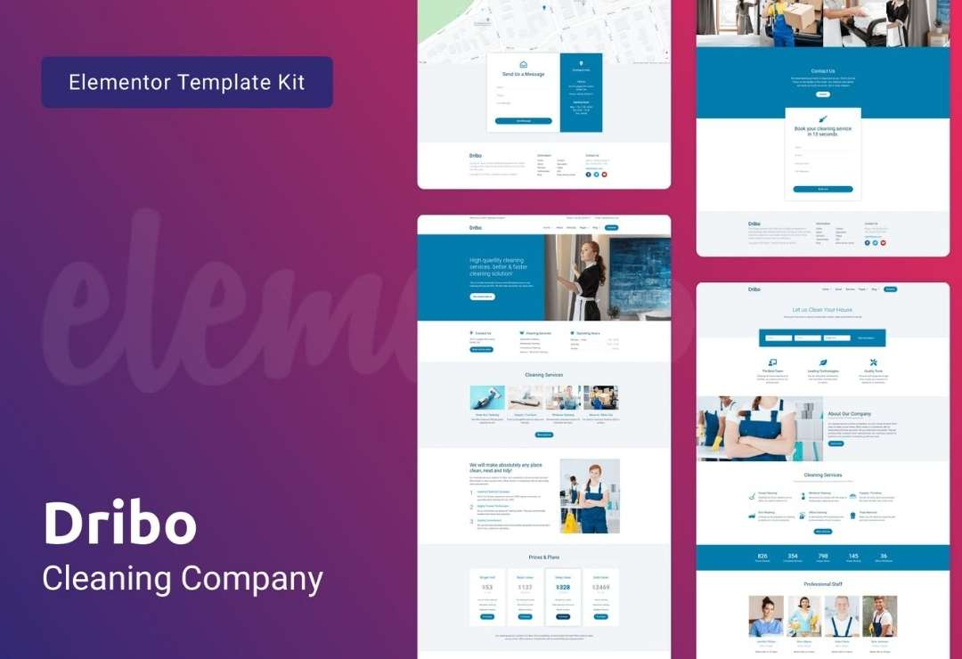 Dribo — Cleaning Company