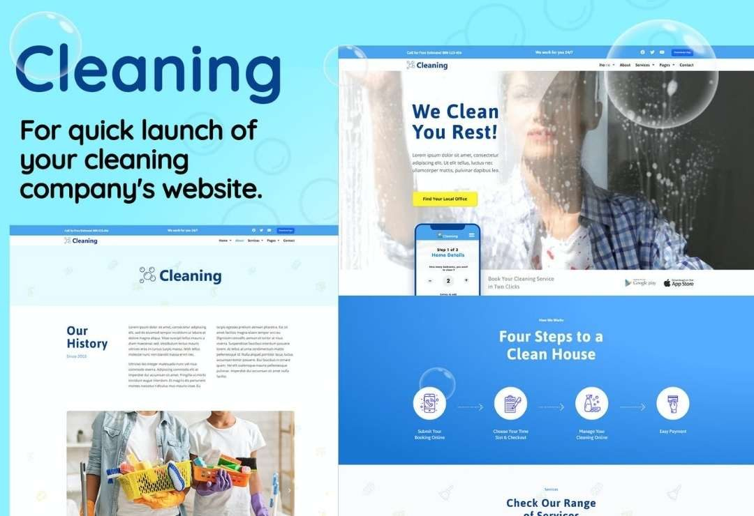 Cleaning - Small Business