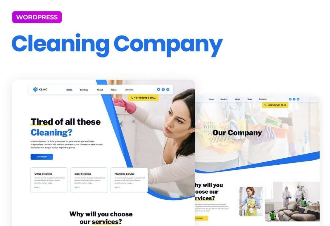 Clino – Cleaning Business