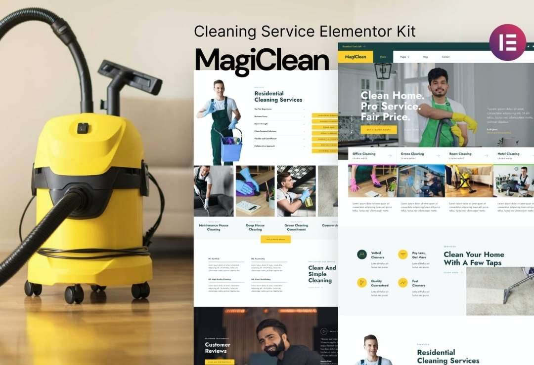 Magiclean – Cleaning Service
