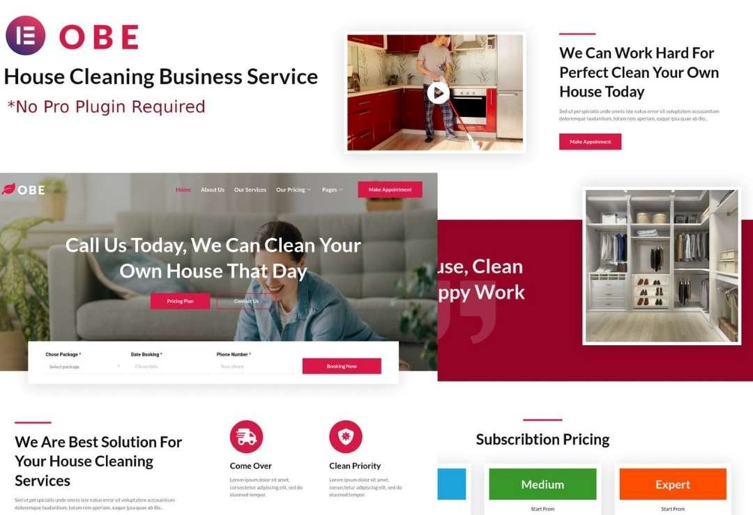 Obe - House Cleaning